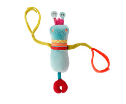 Rolobot rain-stick-rattle
